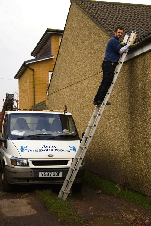 Local firm to the rescue after club roof damaged