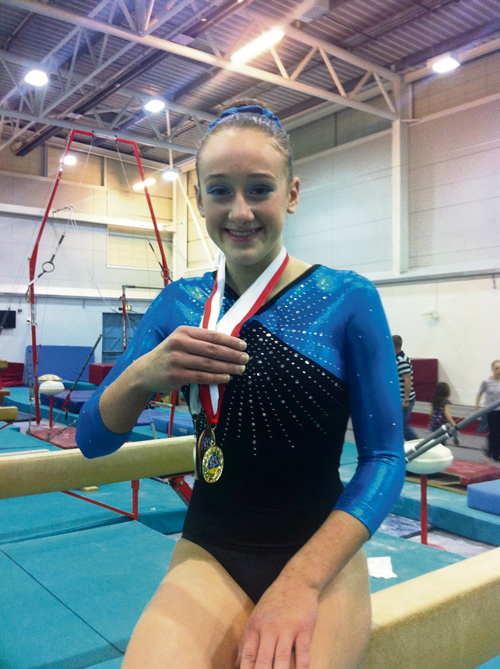 SW honours for Filton gymnast Paisley