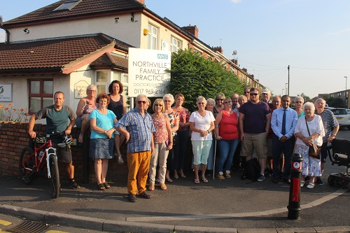 Anger over plans to convert former GP surgery to large HMOs