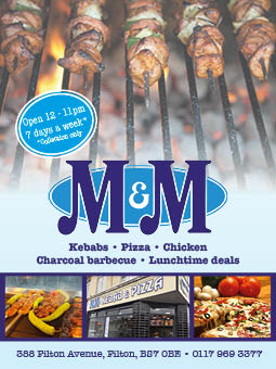 M&M Kebab & Pizza, Filton