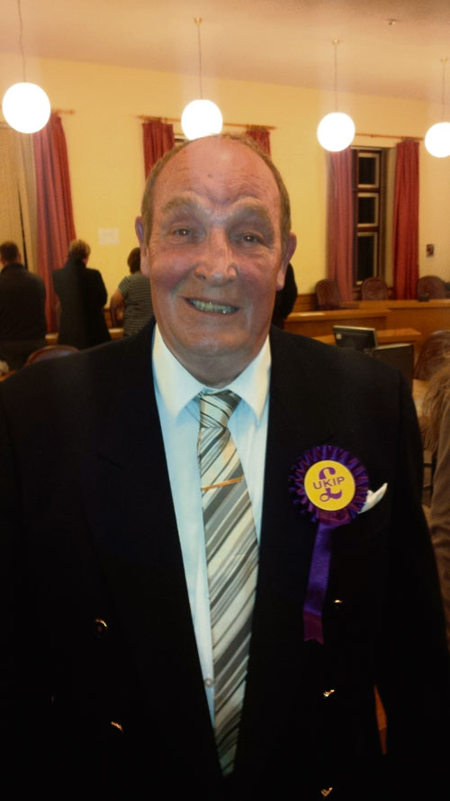 UKIP name Walker, Briffett and Tink as candidates for 2015