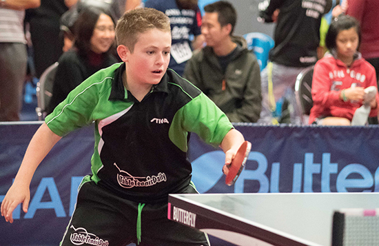 Filton boy makes national table tennis team