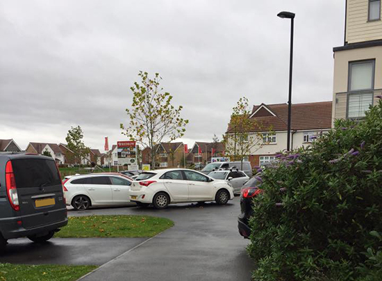 Parking driving residents round the bend in Cheswick Village